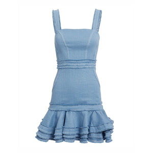 Judith Dress Shell Blue