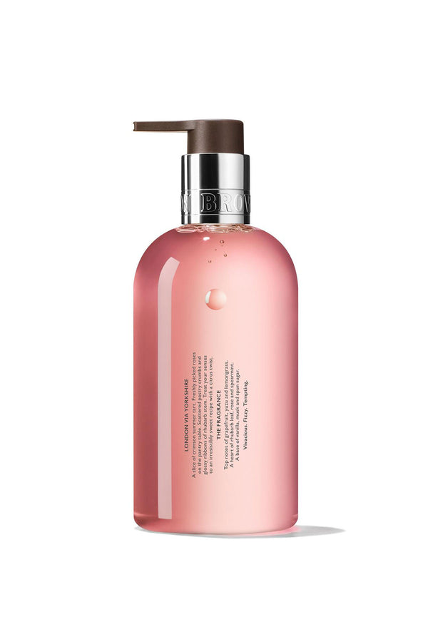 Delicious Rhubarb & Rose Fine Liquid Hand Wash 300ml