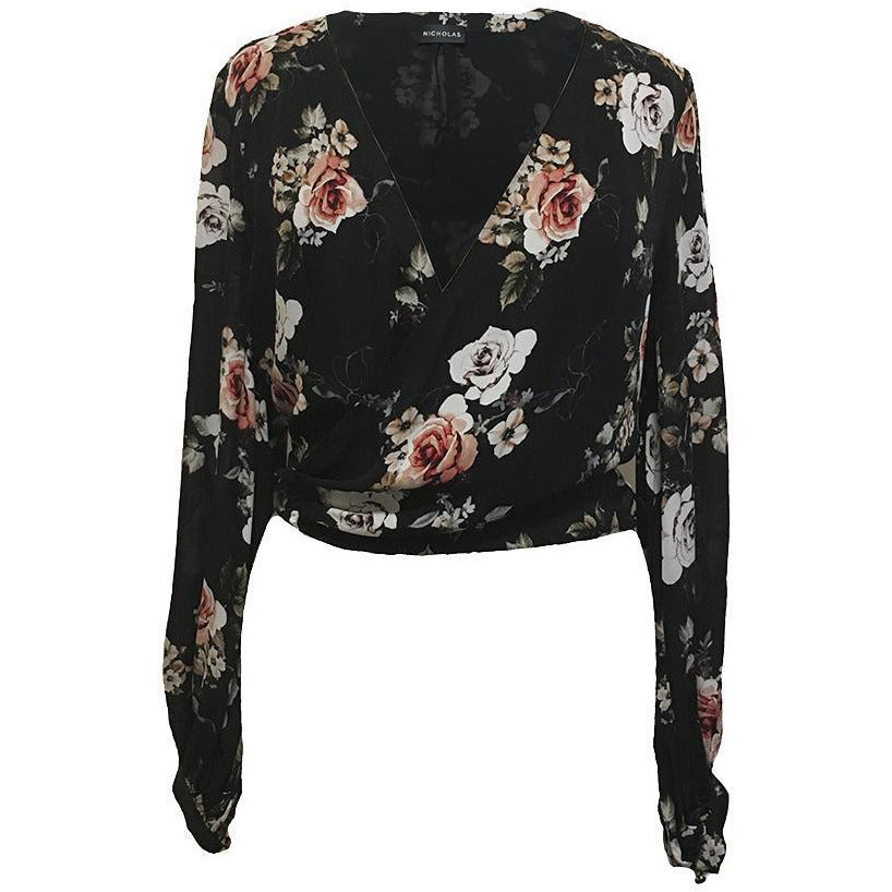 Wrap Top Rose