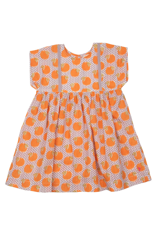 Stacey Dress Nirvana Oranges