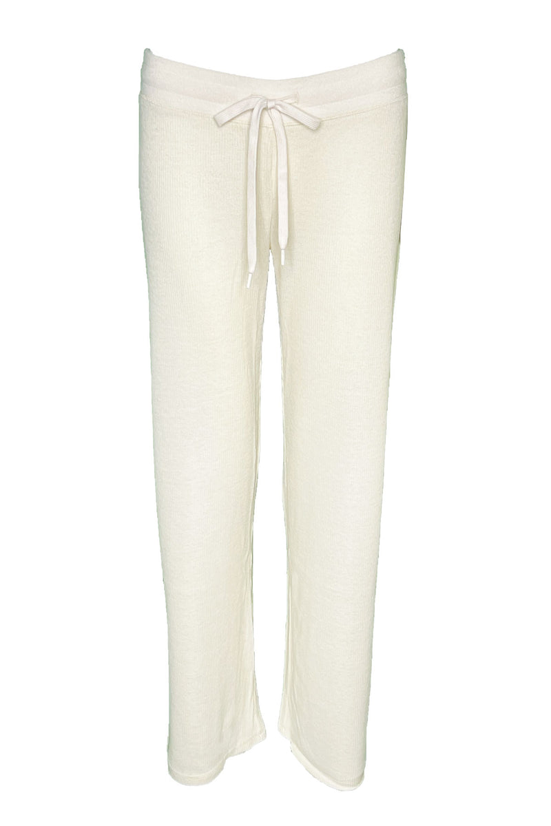 Textured Basics Pant in Stone