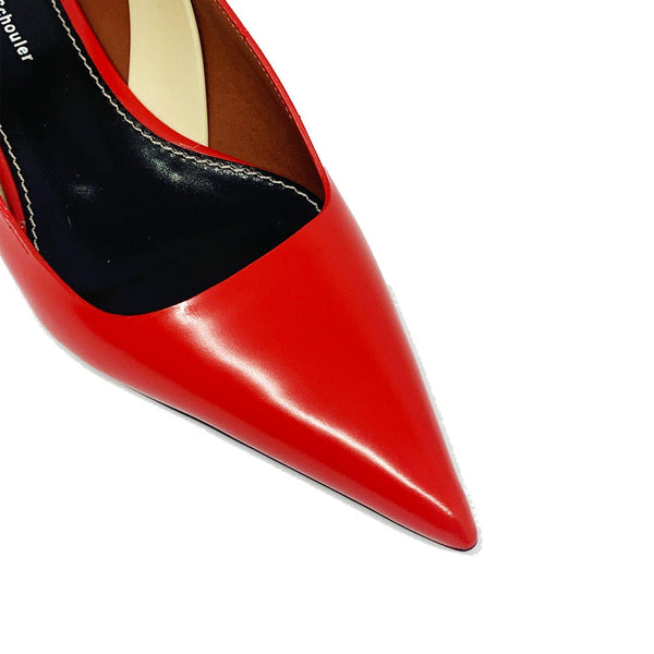 Slingback Pumps Cherry
