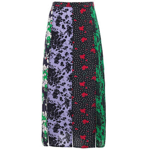 Steph Skirt Abstract Florals