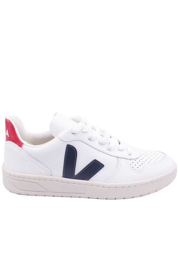 V-10 Leather Extra-White in Nautico Pekin