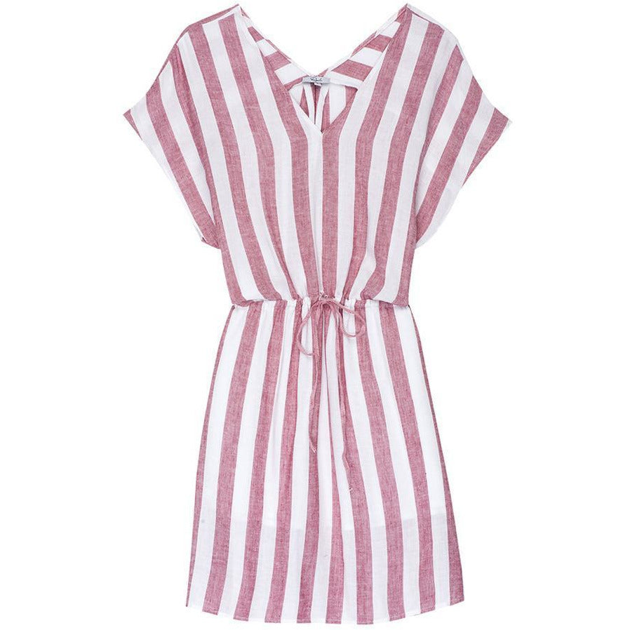 Wren Dress Stripe