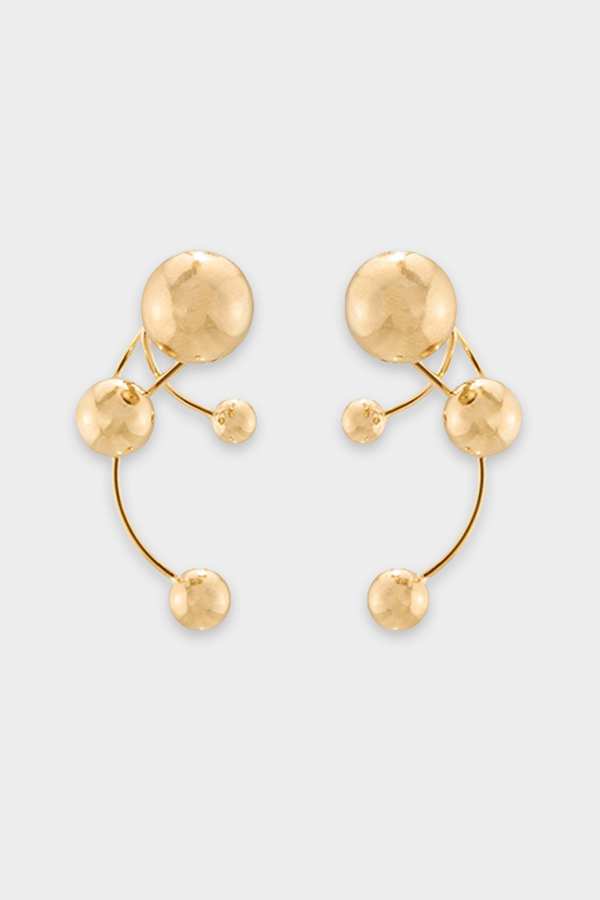 Signum Earrings in Gold
