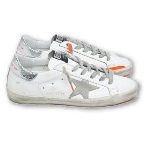Superstar Leather Orange Sneaker