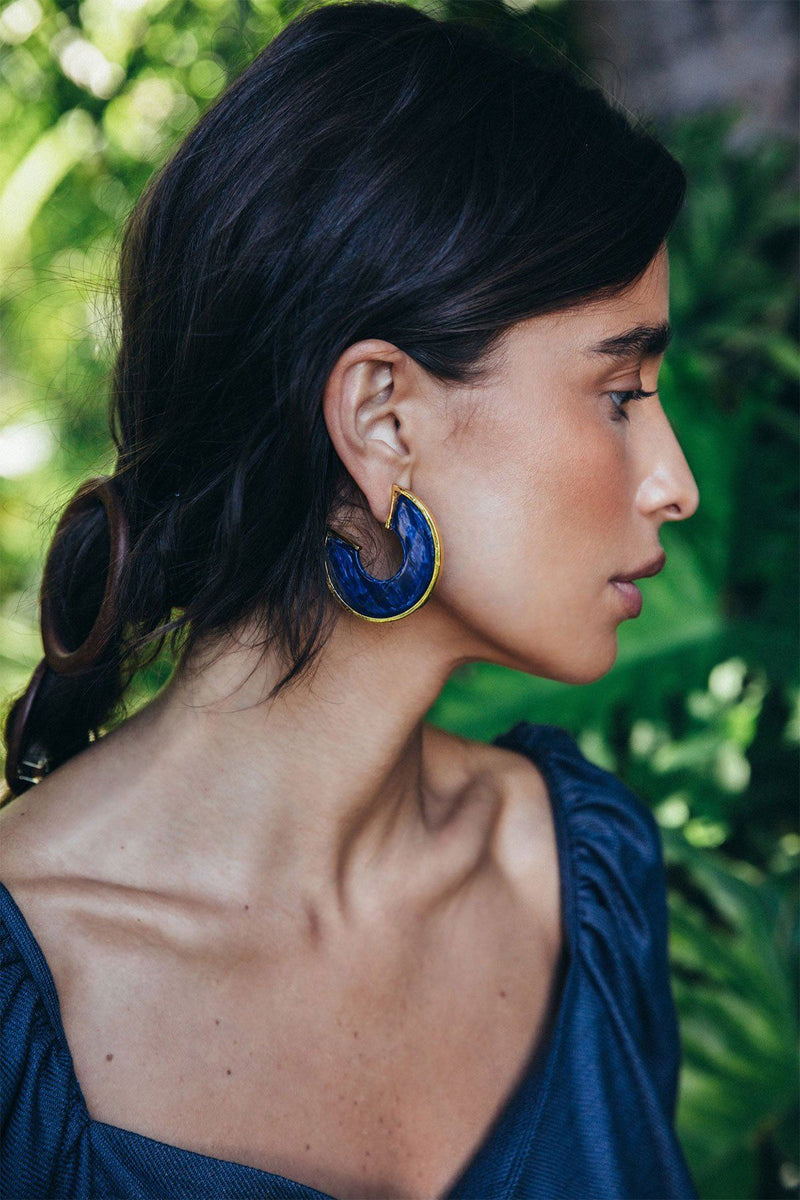 ACCESSORIES - Aria Earrings Midnight