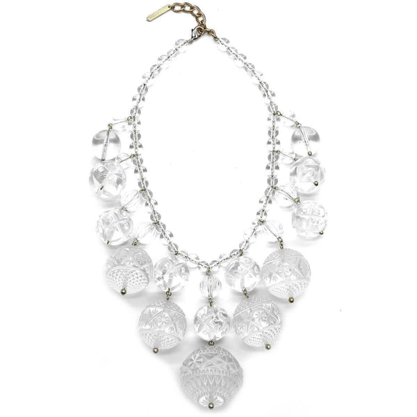 ACCESSORIES - Crystalline Bib Necklace