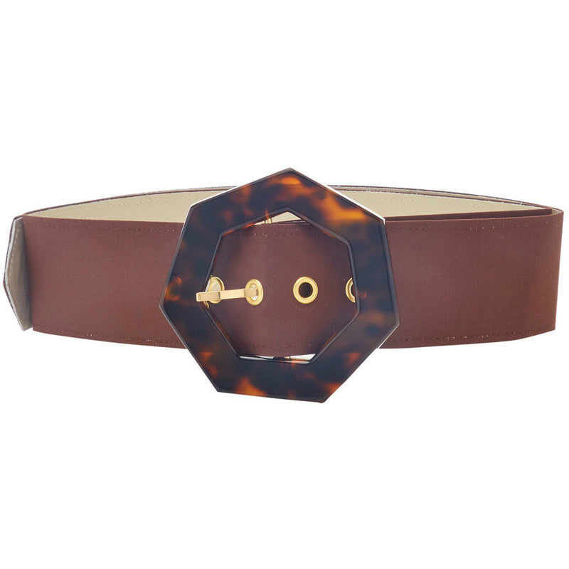 ACCESSORIES - Dani Belt Mahogany