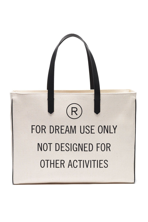 ACCESSORIES - For Dream Use Only East-West California Bag Natural