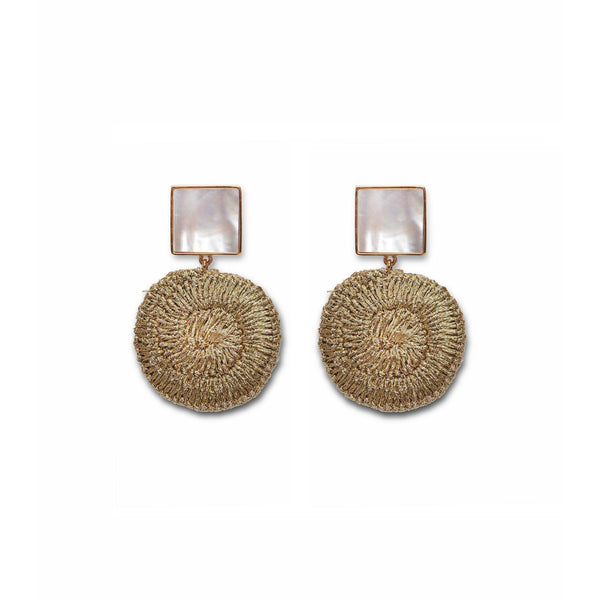 ACCESSORIES - Golden Mala Earrings
