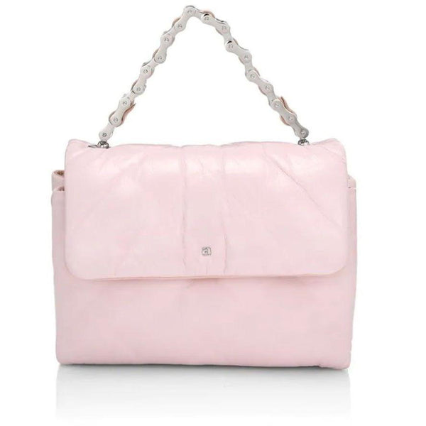 ACCESSORIES - Halo Flap Crossbody Bag Pink Quilted