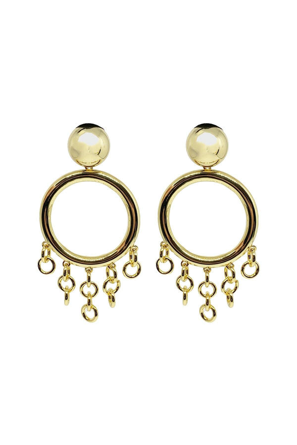 ACCESSORIES - Jasmin Gown Earrings Gold