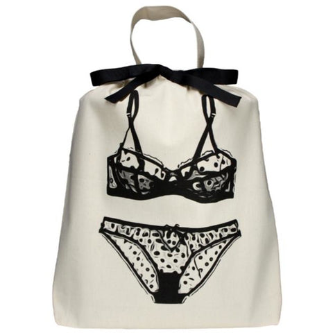 ACCESSORIES - Lingerie Polkadot Organizing Bag