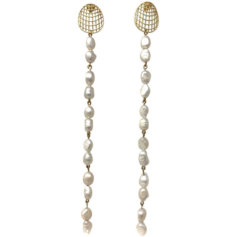 ACCESSORIES - Luz Pearl Earrings