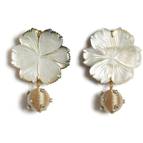 ACCESSORIES - Pearl Blossom Earrings
