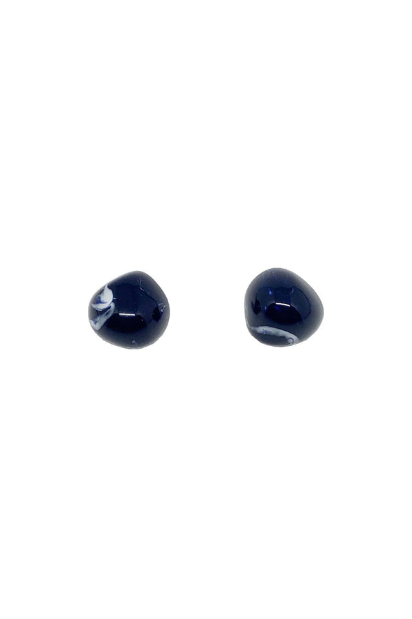 ACCESSORIES - Petra Stud Earrings Midnight
