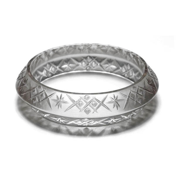 ACCESSORIES - Round Edged Bangle Grey