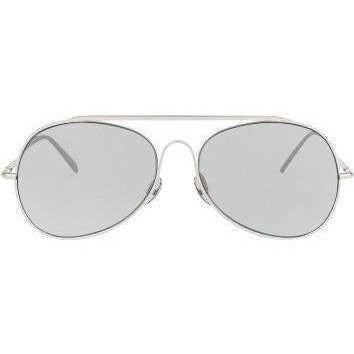 ACCESSORIES - Silver Satin Sunglasses