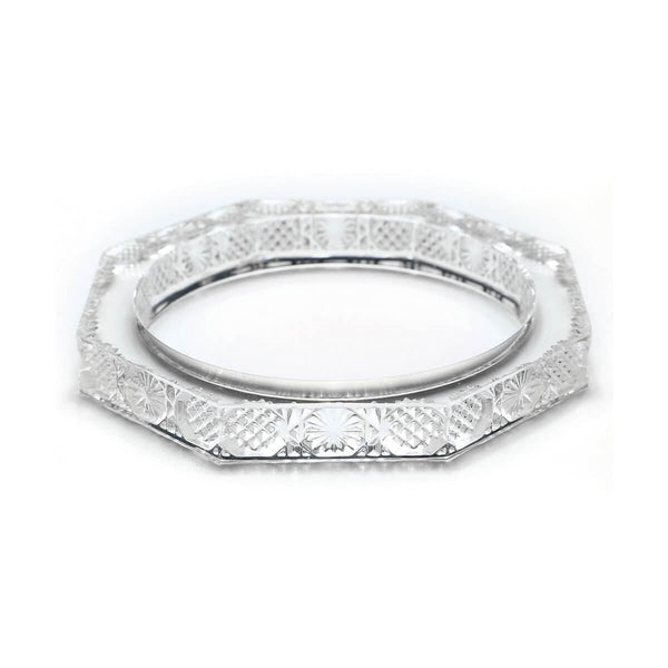 ACCESSORIES - Slim Octagon Bangle Clear