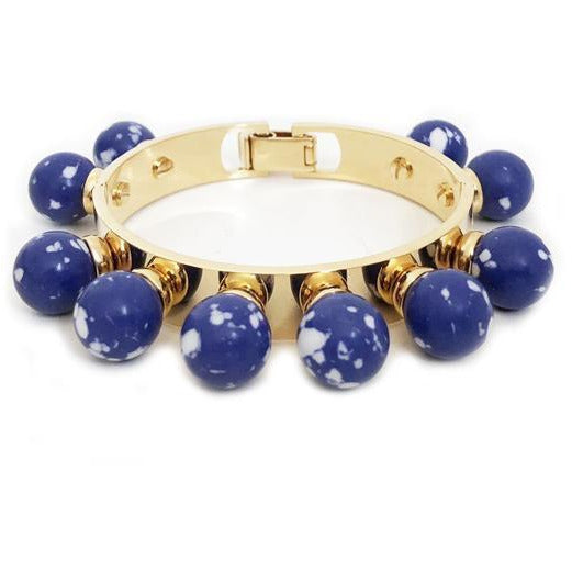ACCESSORIES - Stone Bracelet Cobalt