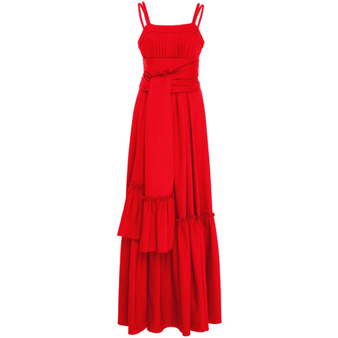 Ophira Dress Scarlet Red