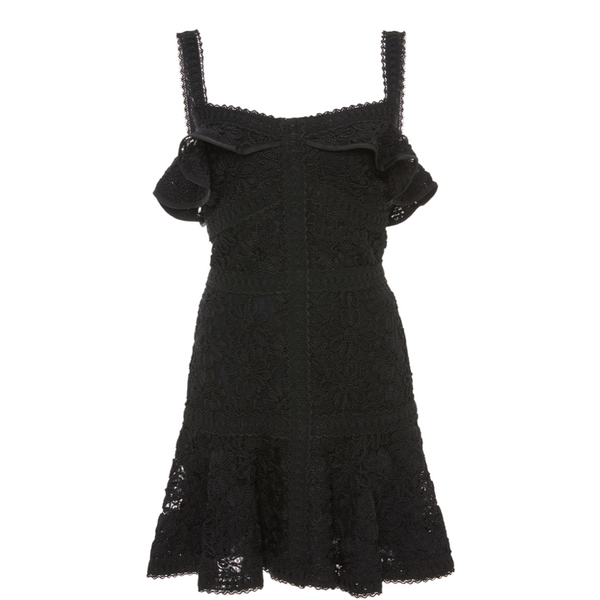 Linzi Dress Black Lace
