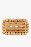 Eos Rattan Clutch in Natural
