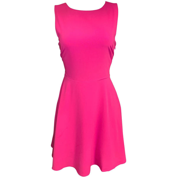 CLOTHING - Adley Flare Dress Pink