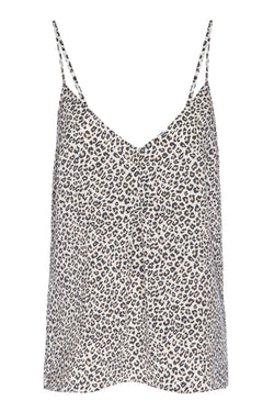 CLOTHING - Animal Print Cami Caramel Multi