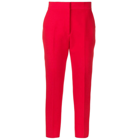 CLOTHING - Ankle Pants Red