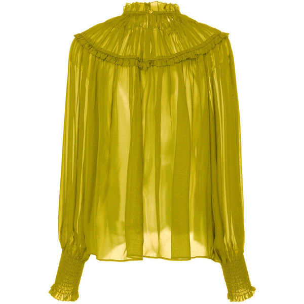 CLOTHING - Arabella Blouse Chartreuse