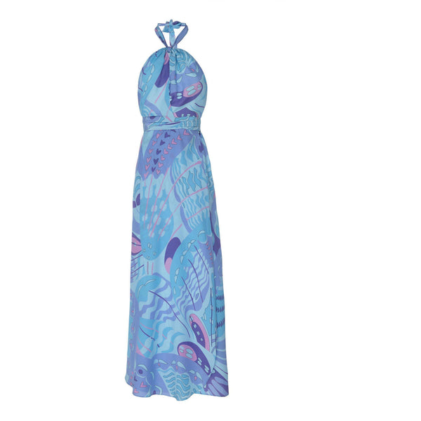 CLOTHING - Bluebelle Psychedelic Butterfly Purple