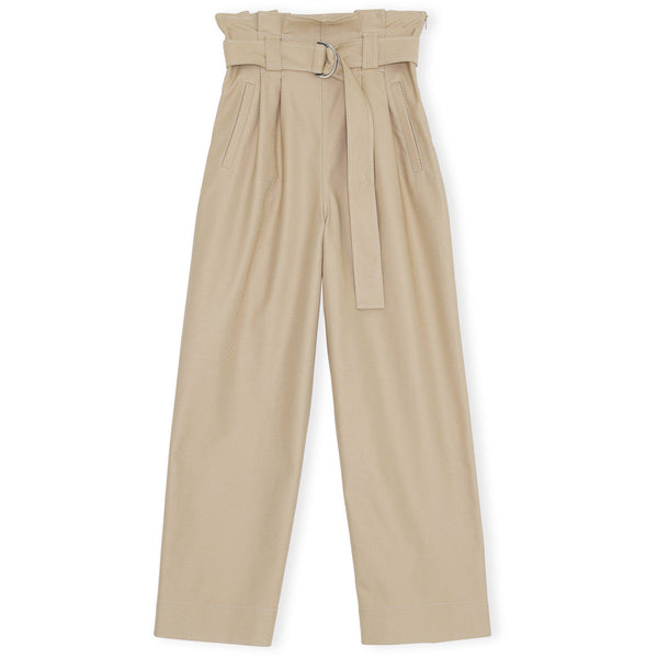 CLOTHING - Chino Belt Pants Tannin