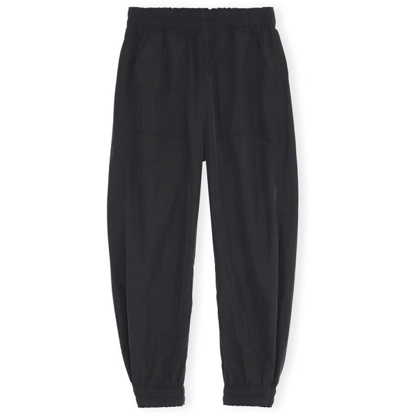 CLOTHING - Crinkled Tech Pants Black