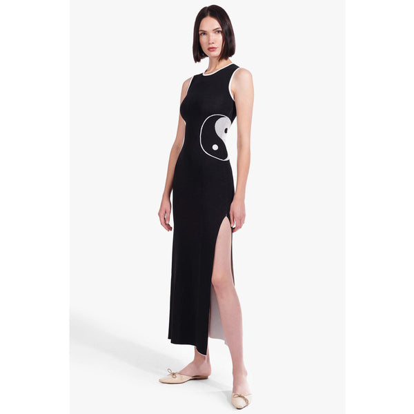 CLOTHING - Dae Reversible Dress White And Black
