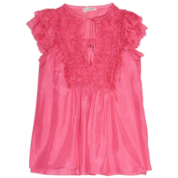 CLOTHING - Evona Top Fuchsia