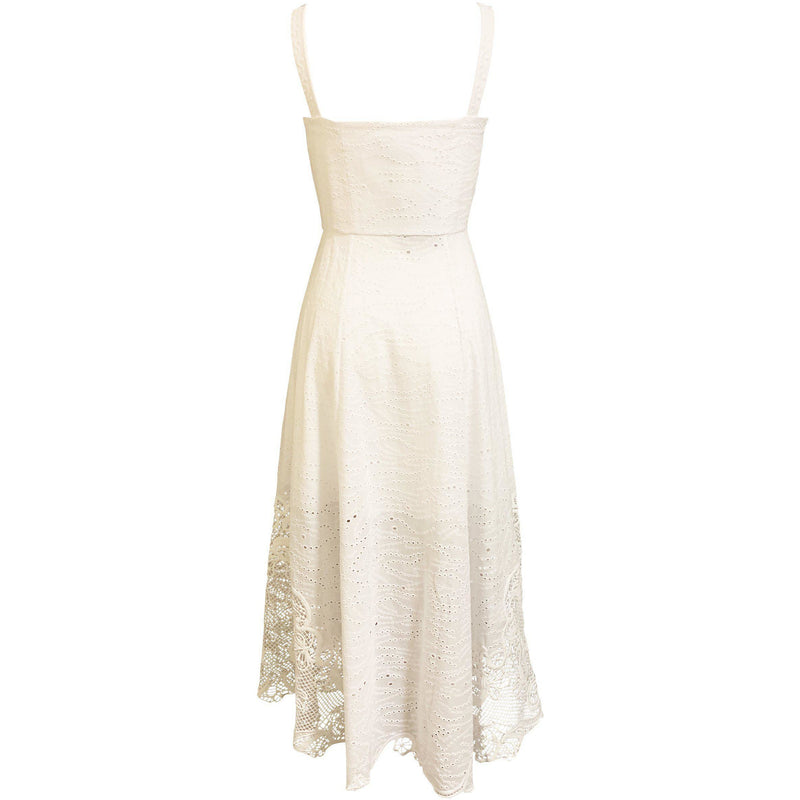 CLOTHING - Fara Dress White
