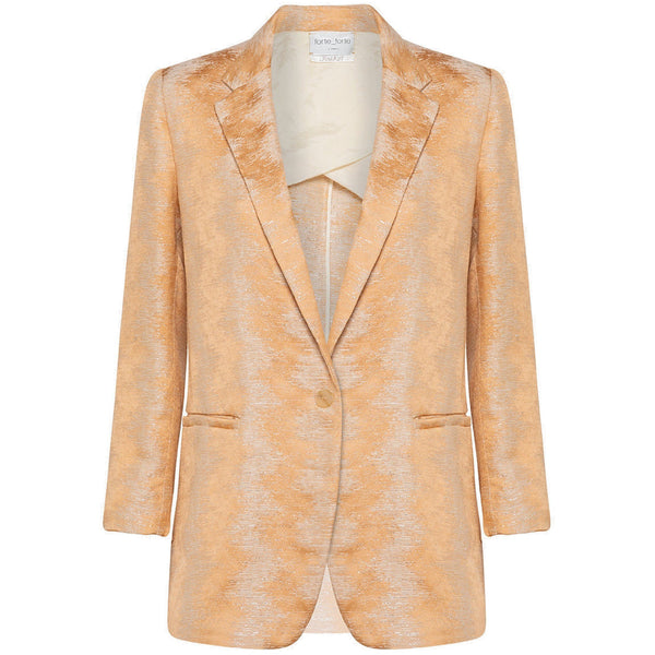 CLOTHING - Fluid Jacquard Jacket Cipria