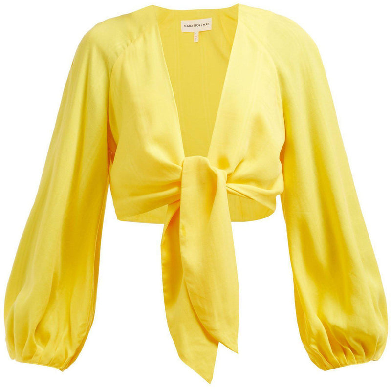 CLOTHING - Gianna Top Yellow