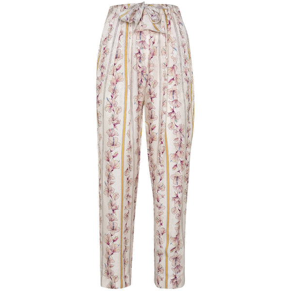 "CLOTHING - ""Guadaloupe"" Print Fluid Pant Cipria"