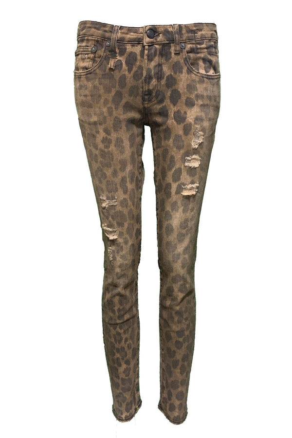 CLOTHING - Kate Skinny Jean Leopard