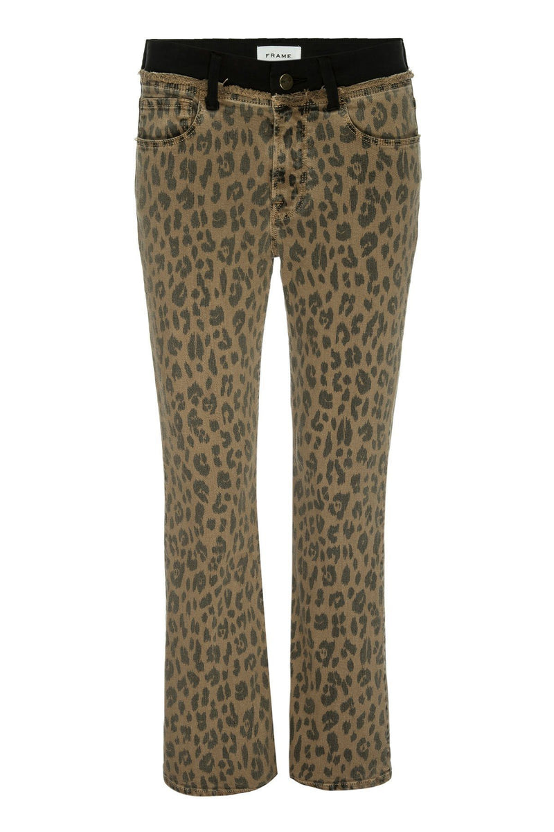 CLOTHING - Le Crop Mini Boot Spring Cheetah