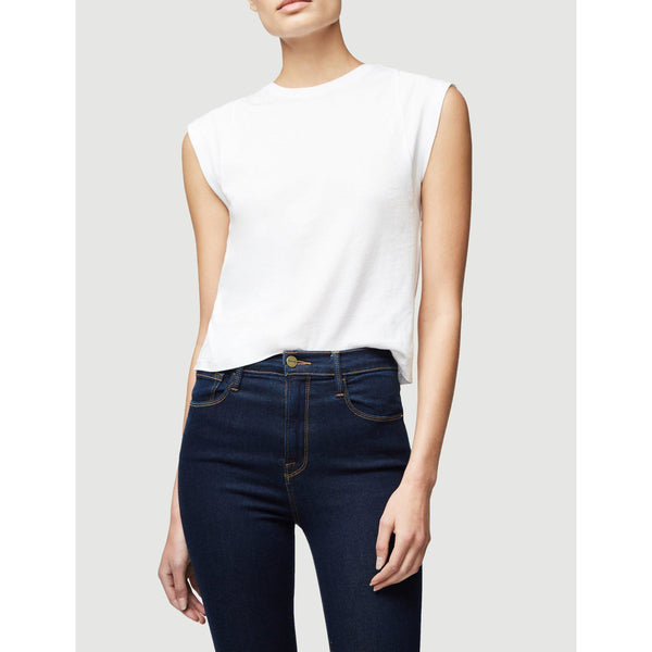 CLOTHING - Le High Rise Muscle Tee Blanc