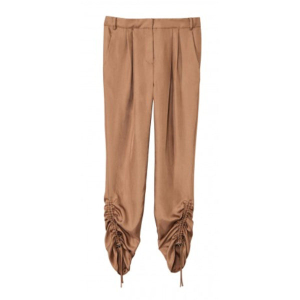 CLOTHING - Mendini Twill Pleated Easy Pant