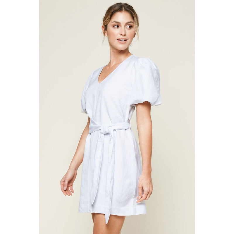 CLOTHING - Perfect Moment Puff Sleeve Mini Dress White