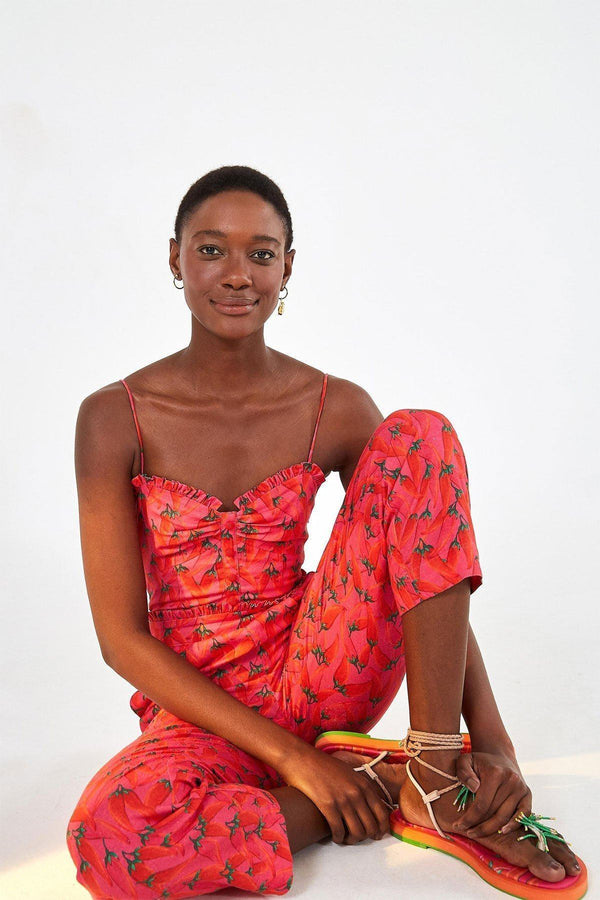 CLOTHING - Red Pepper Jumpsuit Red Multi