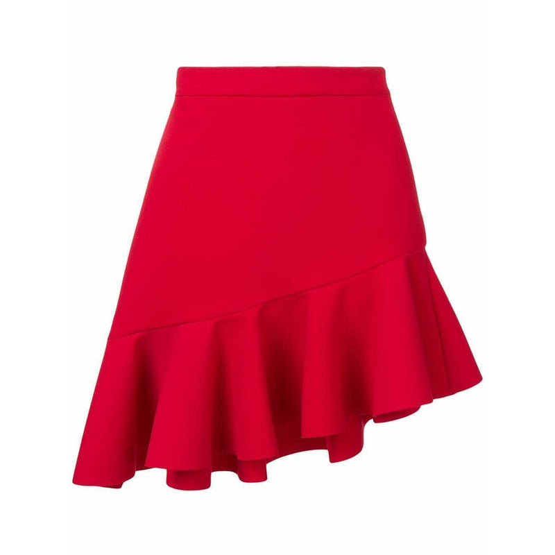 CLOTHING - Ruffle Mini Skirt Red