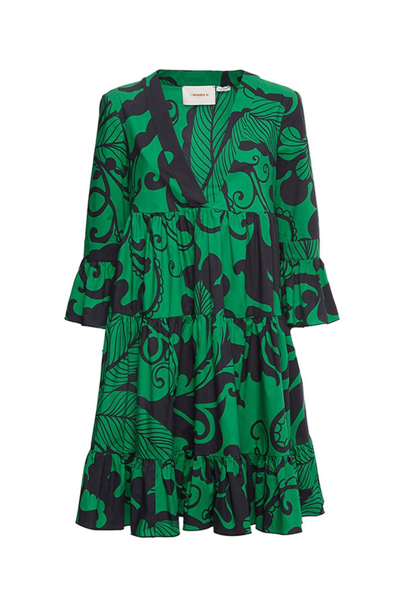 CLOTHING - Short Jennifer Jane Dress Marea Verde